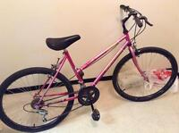 bike for sale, with a FREE pump