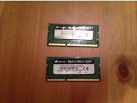 Memory Corsair Apple Mac 16GB (2x8GB) DDR3 1333Mhz CL9