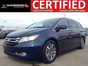 2014 Honda Odyssey Touring | BACK CAM | NAVI | HEATED LEATHER |