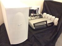 Bose Lifestyle 48 Home Sound System - White