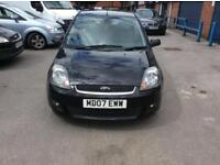 Ford Fiesta Ghia 1.4 12 Month Mot Alloy Wheels 5 Door Hatchback Leather Seats Attractive Car