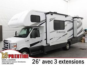 2016 Forest River Forester 2501TS 3 extensions
