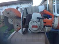 Stihl petrol disk cutter