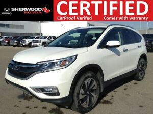 2015 Honda CR-V Touring AWD | NAVI | HEATED LEATHER | FOG | LED