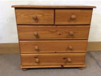 Chest of Drawers from IKEA, solid pine, good condition