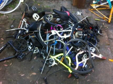 Bicycle Parts new  & Used starting from $5.00 big range St Peters Marrickville Area Preview