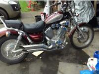 Motorcycle yamaha virago
