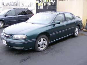 2000 Chevrolet Impala AS TRADED SPECIAL