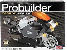Probuilder Carbon Series Sports Bike by Mega Bloks!
