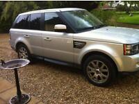 Land Rover Range Rover Sport RANGE ROVER SP HSE TDV6 A (silver) 2011