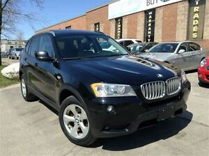 2012 BMW X3 28i xDrive | NAVI | PANO ROOF | RV CAMERA