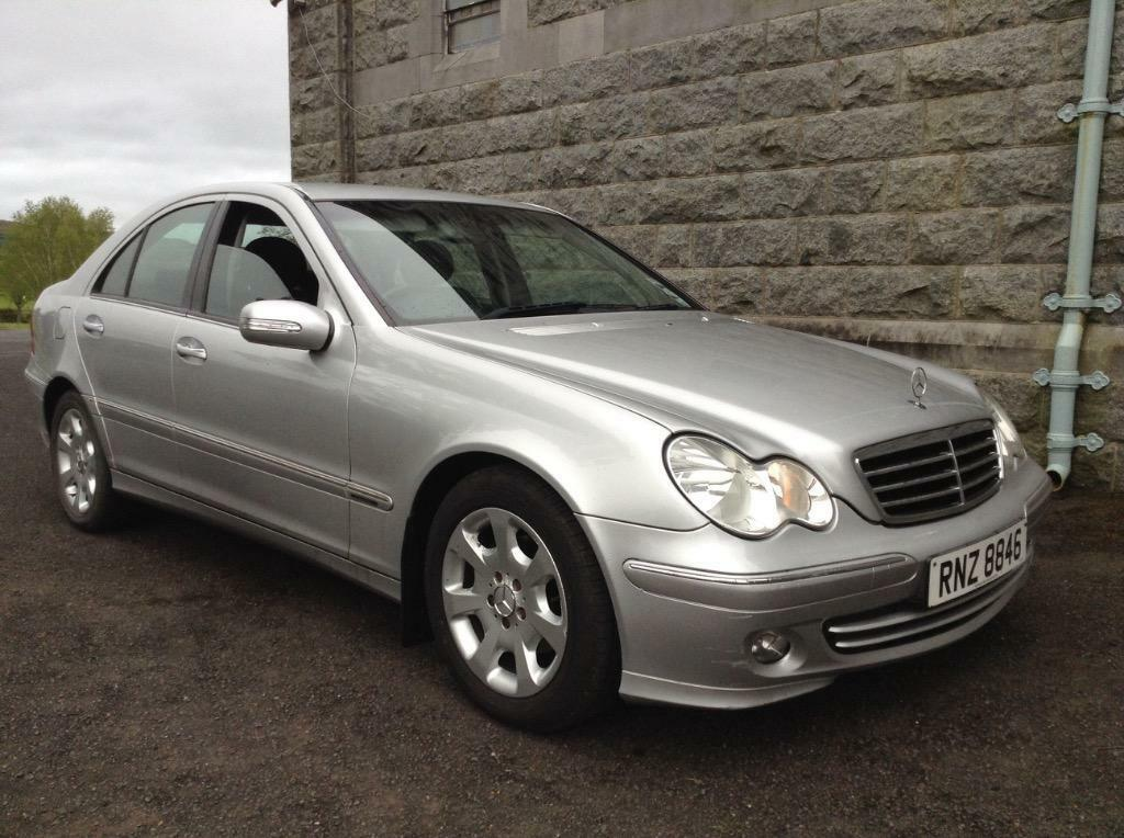 2005 mercedes c220 cdi auto fsh motd in newry county down gumtree. Black Bedroom Furniture Sets. Home Design Ideas