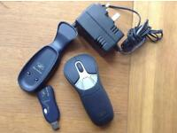Gyration air mouse, go plus, wireless mouse good for presentation.