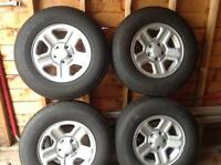 Tires & rims in great condition!