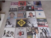 """Huey Lewis and the News Collection. Mix of albums and 12"""" LP's"""