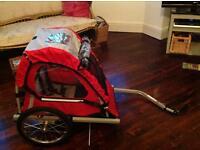 Halford's children's bike trailer