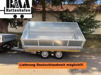 EDUARD Anhänger 3-Seiten Kipper 330x180x30 3000kg E+H+Rampen+Aufs Baden-Württemberg - Mühlhausen im Täle Vorschau