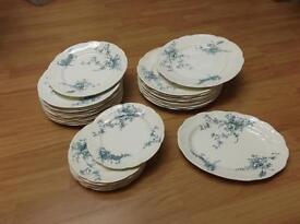 Bisto Pansy plates (ANTIQUE)