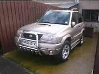 06 DIESEL VITARA 4X4 JEEP 4WD T BELT KIT AND WATER PUMP DONE AT 103 FULL LEATHER LOADED WITH EXTRAS