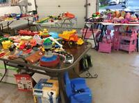 GARAGE SALE!! KIDS TOYS, VINTAGE TOYS ETC.
