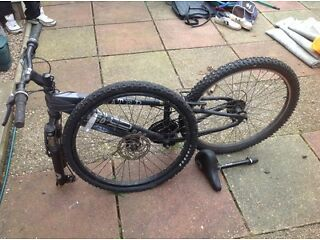 Halfords x-rated mountain bike