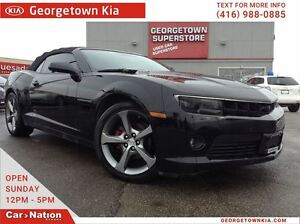 2014 Chevrolet Camaro 2LT | SOFT TOP | ALLOYS | LEATHER | TOUCH