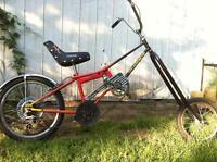 Vélo modifié chopper pour enfant - adolescent