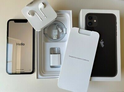 Apple iPhone 11 - 64GB - Black (Unlocked) A2111 (CDMA + GSM) in MINT CONDITION