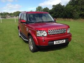 Land Rover Discovery 4 SDV6 XS (red) 2013-03-21