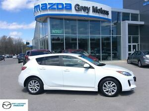 2013 Mazda MAZDA3 GS-SKY, 6 speed, Heated Seats, Bluetooth, One