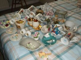 28 Pieces of china collectables