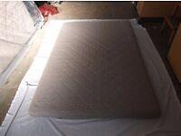 Upholstered foam materress