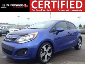 2013 Kia Rio SX w/Navigation | HEATED LEATHER | BLUETOOTH