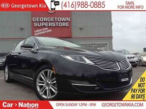2014 Lincoln MKZ NAVI | HYBRID | BACK UP CAM | LEATHER | LOW KMS