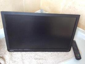 Toshiba Freeview TV with DVD