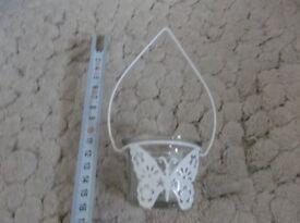 20 x hanging butterfly tea light holders
