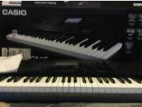 LOWER PRICE Casio 6200 Electronic Keyboard, AS NEW CONDTION