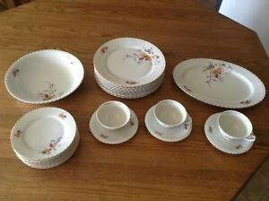 "Fine Bohemian China ""Autumn Leaves"" made in Czechoslovakia Gatineau Ottawa / Gatineau Area image 1"