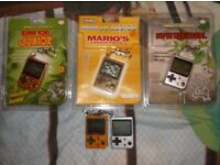 Miscellaneous Game and Watch, LCDs, Gameboy Player, games etc.