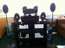 Keff surround sound/pioneer vsx1018ah amp