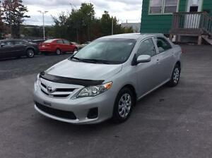 2012 Toyota Corolla LE SEDAN WITH AIR CONDITIONING