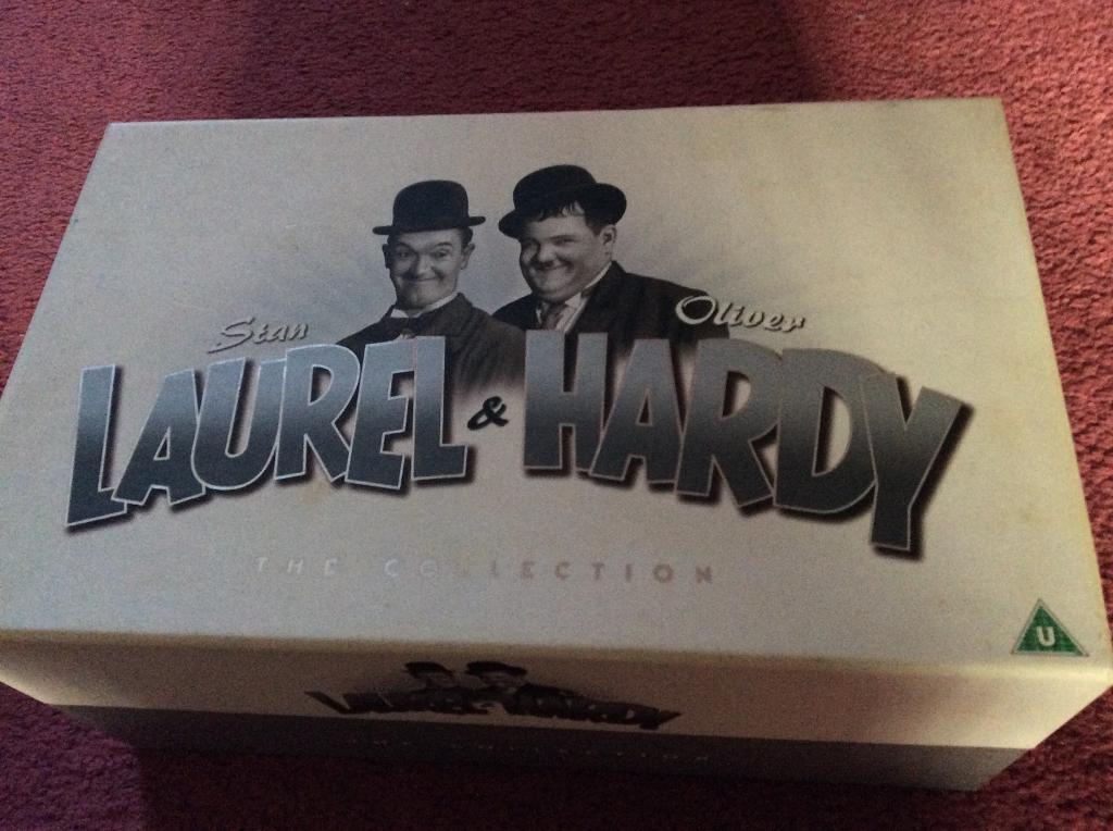 Laurel & Hardy box set