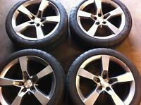 20 INCH 2010 2011 2012 CAMARO SS RIMS WHEELS AND TIRES FOR SALE