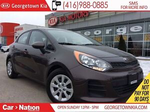 2016 Kia Rio LX | BLUETOOTH | ECO MODE | ONE OWNER ARRIVAL |