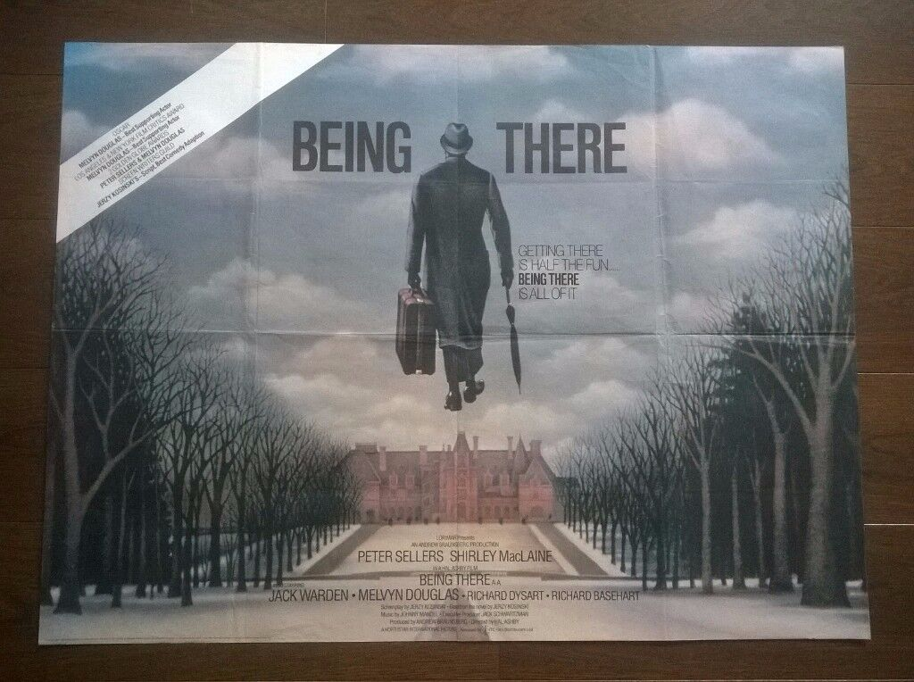 being there ' peter sellers ' original film poster