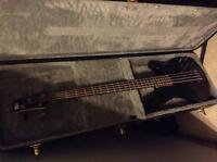 Ibanez electric bass guitar with hard case