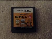 Wall.e Nintendo ds and DSi game