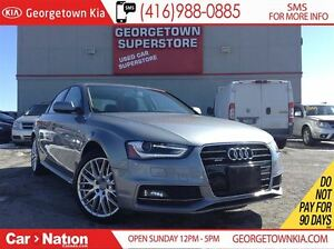 2015 Audi A4 2.0T Komfort | LEATHER | ROOF | QUATTRO