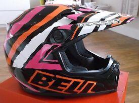 "Bell ""Tagger Scrub"" Mx9 MotoX / ATV Helmet in size XL Brand New / Boxed Motorcross / Quad."