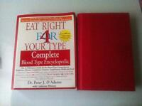 Eating Right 4 Your Type Book Set